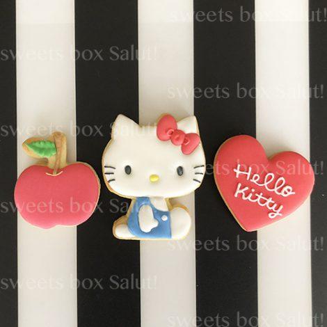 Hello Kitty / ハローキティ の誕生日用アイシングクッキー1