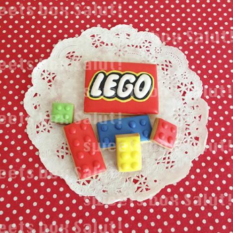 レゴブロックのアイシングクッキー4