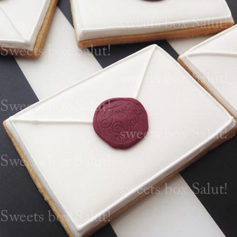 お手紙アイシングクッキー2