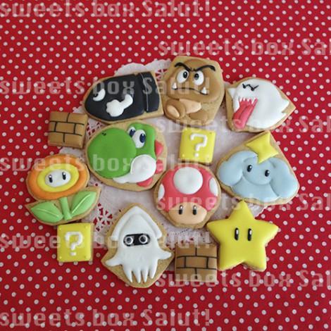 スーパーマリオと仲間たちのアイシングクッキー2