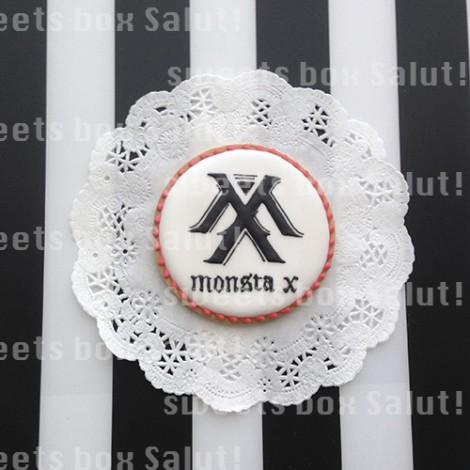 Monsta Xのアイシングクッキー2