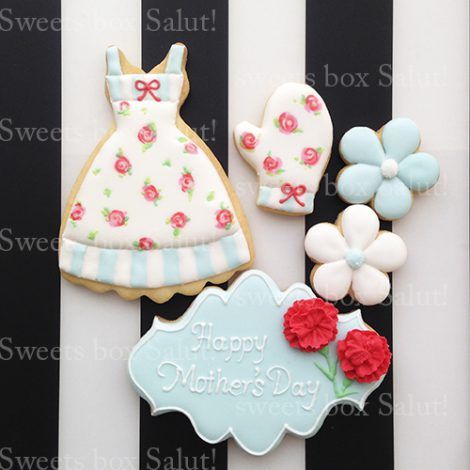 母の日プレゼント 花以外ならアイシングクッキーのギフトセットはいかがですか?2