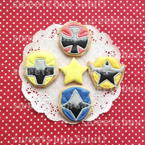 ニンニンジャーのお誕生日用アイシングクッキー