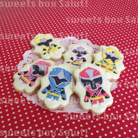 ニンニンジャー6人のアイシングクッキー