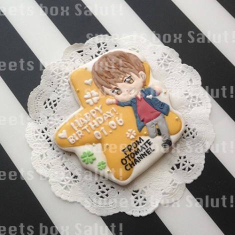 ニコニコ動画「オトメイトチャンネル」八代拓さんのお誕生日用アイシングクッキー2