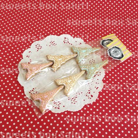 エッフェル塔のアイシングクッキー4