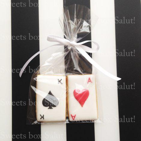 結婚式プチギフト用アイシングクッキー通販(トランプモチーフ編)