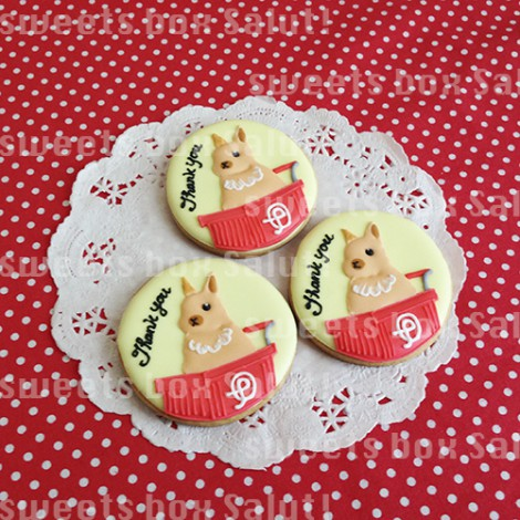 ピョンパレちゃんのアイシングクッキー1