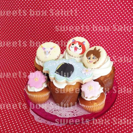 ランドセルがかっこいい!入学祝いのカップケーキ1