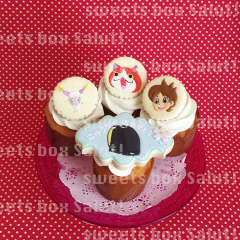 ランドセルがかっこいい!入学祝いのカップケーキ