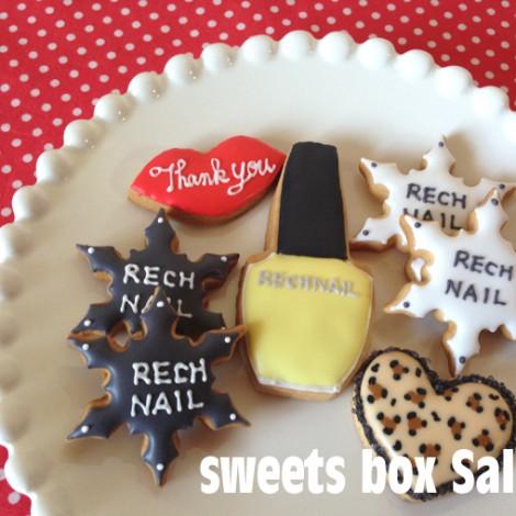 ネイルサロン「RECHNAIL」さまのアイシングクッキー1