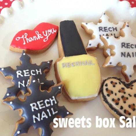 ネイルサロン「RECHNAIL」さまのアイシングクッキー2