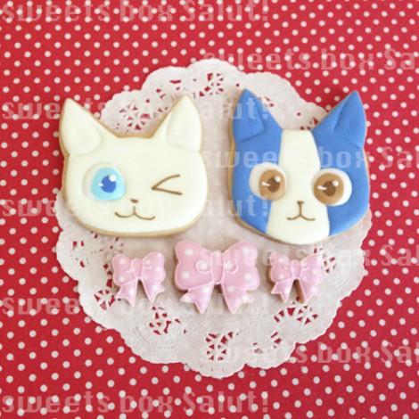 【りぼん】掲載!バレンタインのアイシングカップケーキ&キャラアイシングクッキー
