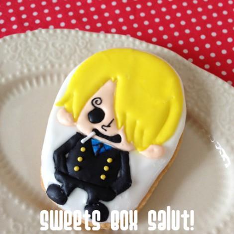 ワンピース サンジのアイシングクッキー