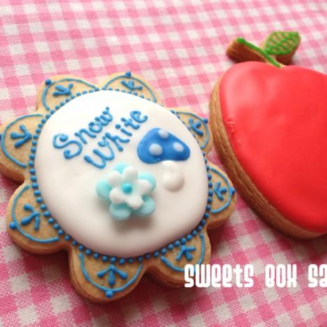 白雪姫のアイシングクッキー3