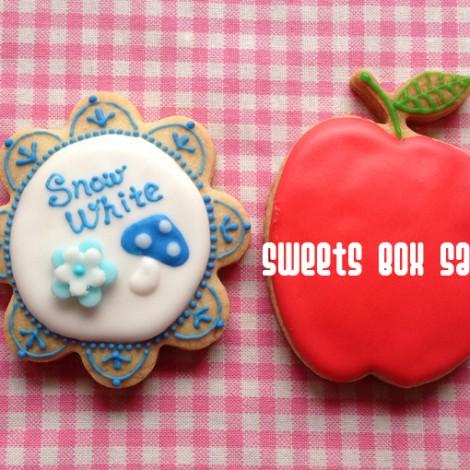 白雪姫のアイシングクッキー2