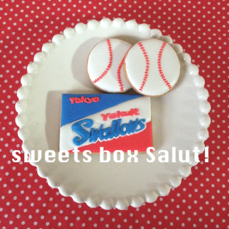 ヤクルト スワローズのアイシングクッキー2
