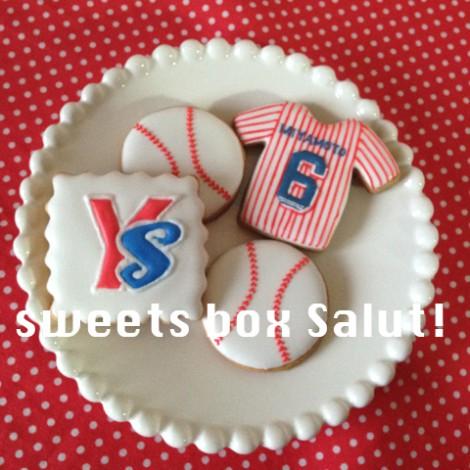 ヤクルト スワローズのアイシングクッキー3