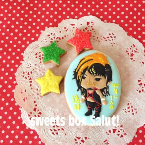 新日本プロレス 棚橋選手のアイシングクッキー