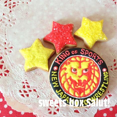 新日本プロレス 棚橋選手のアイシングクッキー3