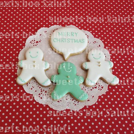ティファニーなクリスマスアイシングクッキー3