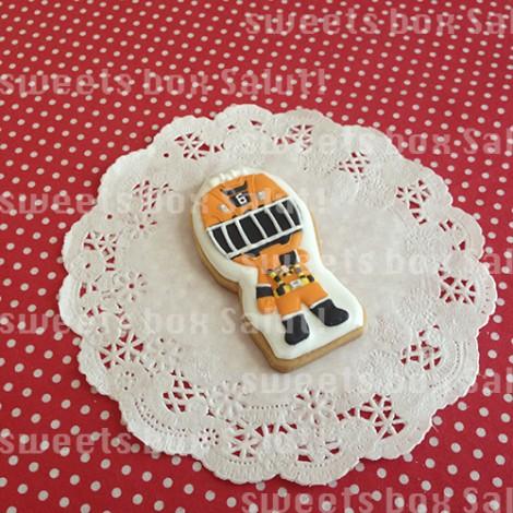 トッキュウジャー6号のアイシングクッキー