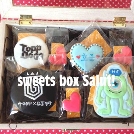 「ToppDogg」(K-popグループ)とモンスターズ・ユニバーシティのマイクのアイシングクッキー6