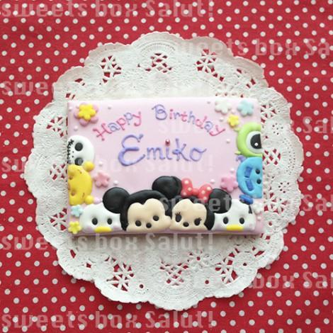 ディズニーツムツムのお誕生日用アイシングクッキー2
