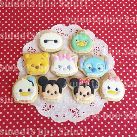 ディズニーツムツムのお誕生日用アイシングクッキー