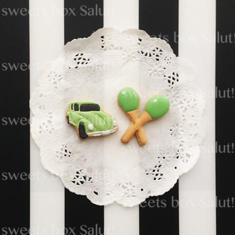 「うたのプリンスさま」寿嶺二のアイシングクッキー