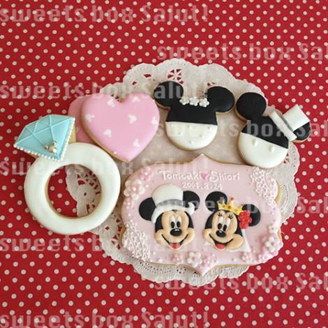 ご結婚&ベビーお祝いのアイシングクッキー1