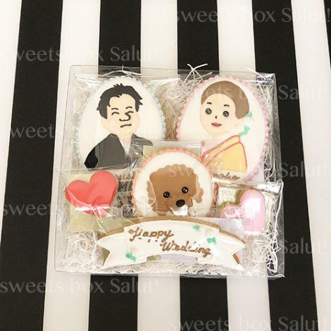 結婚祝いのアイシングクッキー2
