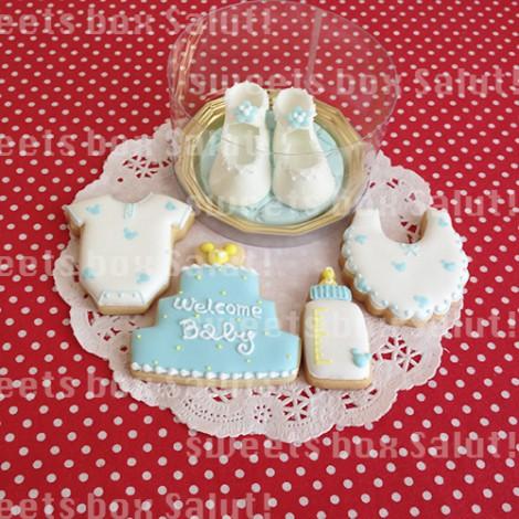 ご結婚&ベビーお祝いのアイシングクッキー3
