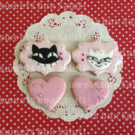 ロゴ入り結婚祝い&お礼のアイシングクッキー3