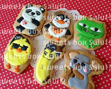 2PM「Ya Zoo」のアイシングクッキー2