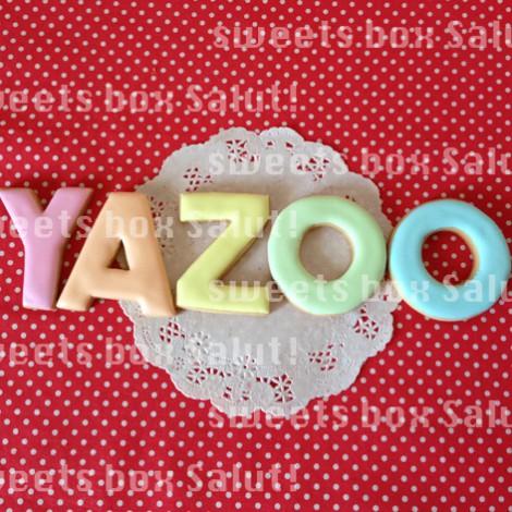 2PM「Ya Zoo」のアイシングクッキー