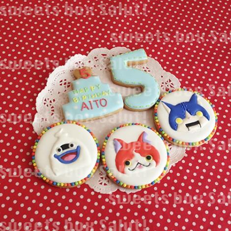 「妖怪ウォッチ」ジバニャン、ロボニャンアイシングクッキー