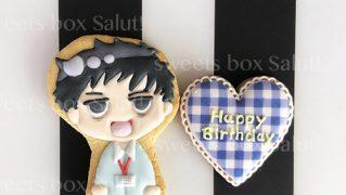 誕生日用キャラクターアイシングクッキー