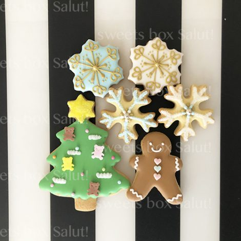 「鬼滅の刃」キャラモチーフのクリスマスアイシングクッキー2
