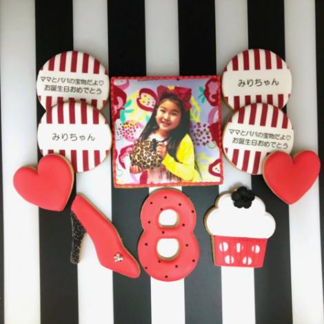 みんなの製作実績②誕生日アイシングクッキーセット1