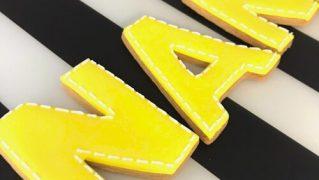 みんなの製作実績③アルファベットアイシングクッキー