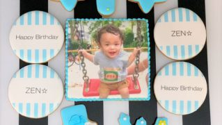 みんなの製作実績④誕生日アイシングクッキーセット