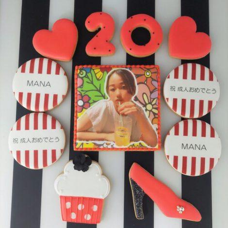 みんなの製作実績④誕生日アイシングクッキーセット1