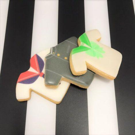 制服のプリントアイシングクッキー1