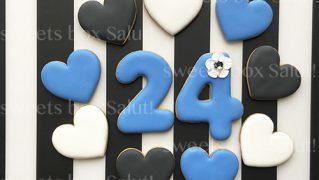 【みんなのギャラリー】セミオーダーメイドアイシングクッキー/誕生日ケーキトッパー