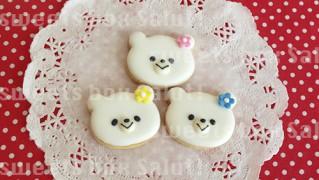しろくま3姉妹のアイシングクッキー