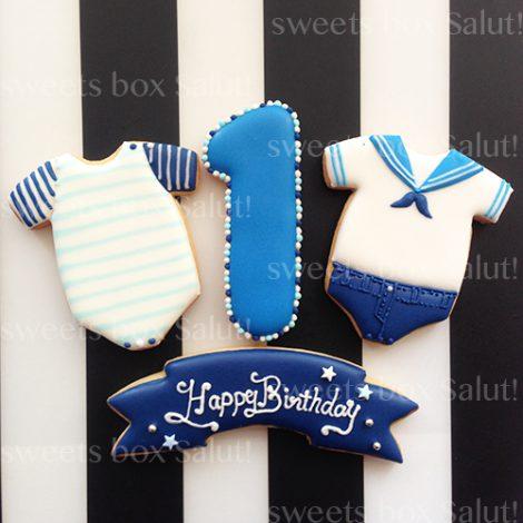 1歳のお誕生日用アイシングクッキー1