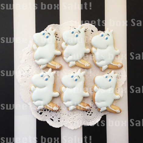 ネイルサロン7周年記念のアイシングクッキー2