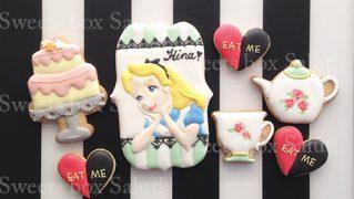 アリスのアイシングクッキー