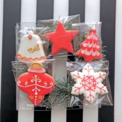 クリスマスなアイシングクッキーたち3
